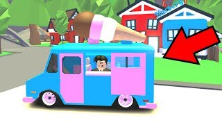 I TESTED THE ICE CREAM CART AT ADOPT ME-ROBLOX