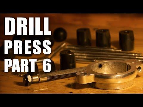 Drill Press Restoration Part 6 - Metal Refinishing