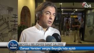 Ahmet Misbah Demircan -Usta İşi Beyoğlu projemizi 'Zanaat Yeniden' sergisi ile taçlandırdık