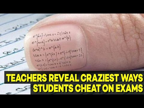 9 CRAZIEST Ways Students Cheat on EXAMS