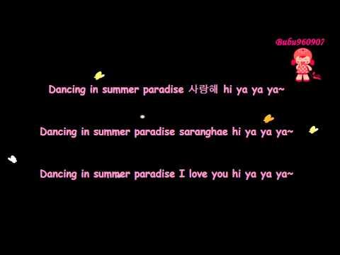 [Lyrics] TVXQ!   DBSK (동방신기) - Hi Ya Ya Summer Day (Hi Ya Ya 여름날) {Han/Rom/Eng}