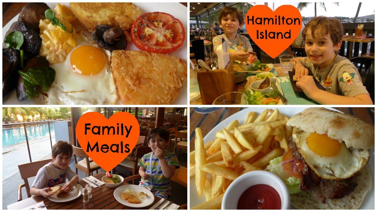 Family Meals At Hamilton Island Restaurants Travel Food Blog Youtube