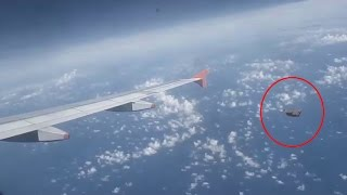 Breathtaking UFO Video | Huge UFO Filmed From Airplane Over Poland | Is That UFO or Something else?