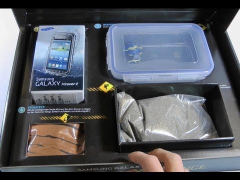 Samsung Galaxy Xcover 2 Unboxing und Tauchtest [Deutsch - German]