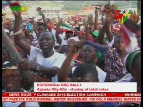 Koforidua: NDC Rally