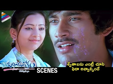 Kotha Bangaru Lokam Telugu Movie Scenes | Swetha Basu Prasad Introduction Scene | Varun Sandesh