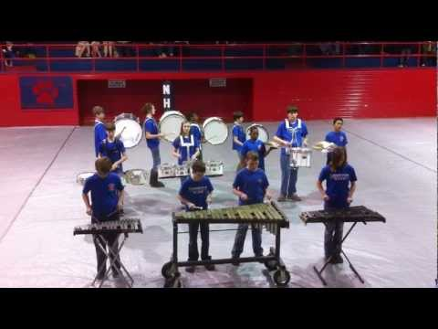Guntown Middle School Indoor Percussion Ensemble