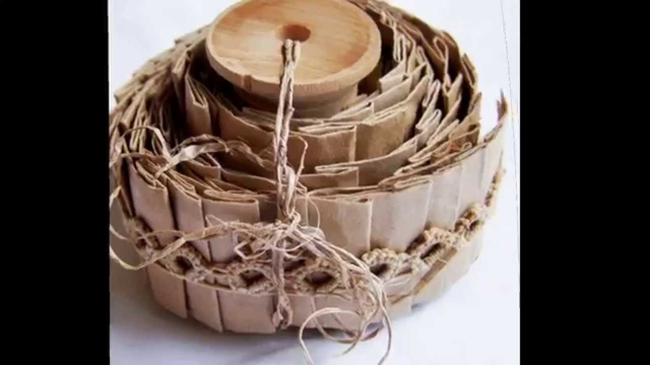 Creative Brown Paper Bag Crafts Decorating Ideas