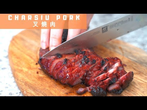 Two Ways Charsiu Chinese BBQ Pork  叉烧肉 (Oven And BBQ)  *4K *EP4