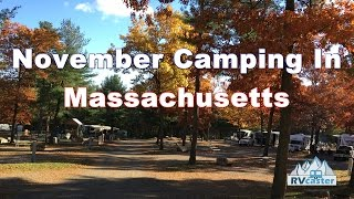 November Camping In Massachusetts