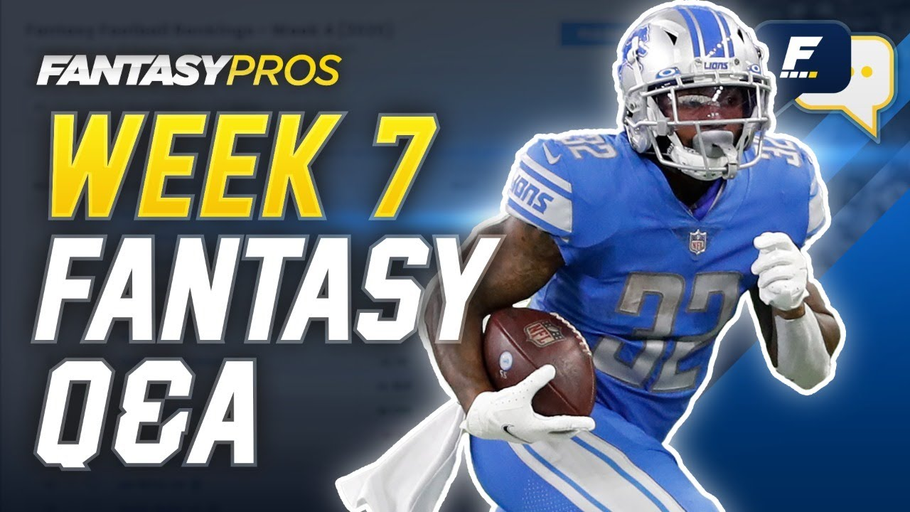 FantasyPros Live: Week 7 Q&A with Mike Tagliere (2020 Fantasy Football)