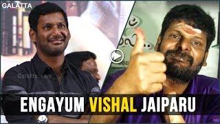 Engayum Vishal Jaiparu, Cheran is Troublemaker | Bigg Boss Ganja Karuppu Blasts Cheran