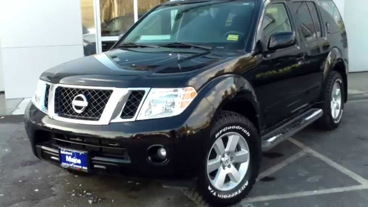 Used 2012 Nissan Pathfinder SV 4x4 Four Wheel Drive Saco ...