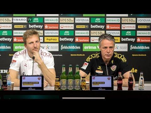 29. Spieltag | EBS - SGD | Pressekonferenz vor dem Spiel