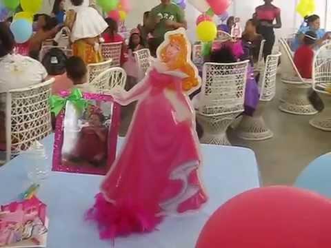 Decoracion globos princesas avi youtube for Decoracion de princesas