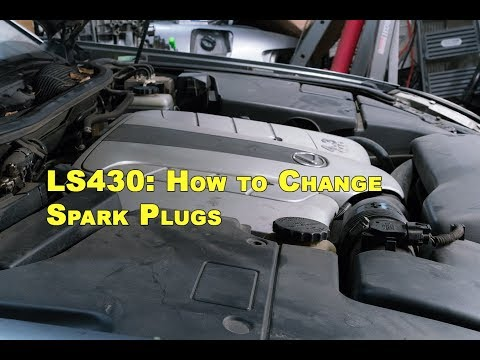 Lexus LS430   How to Replace Spark Plugs