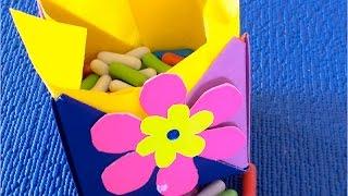 DIY: Как сделать подарочную коробку из картона ✿ своими руками(DIY: Как сделать подарочную коробку из картона своими руками Музыка из фонотеки ютуба Music : - Sour Tennessee Red -..., 2016-06-24T08:00:02.000Z)