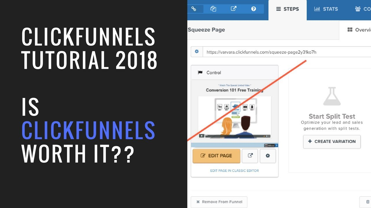 Clickfunnels Tutorial 2018 | Clickfunnels for Beginners | HONEST Review + Special BONUS!