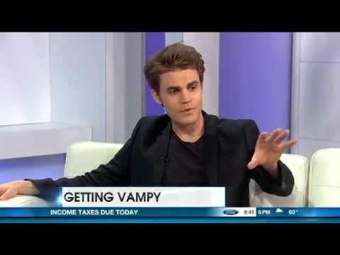 New interview:  'Vampire Diaries' Paul Wesley ventures behind the camera