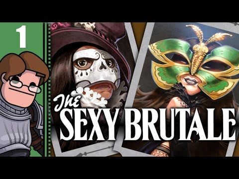 Let's Play The Sexy Brutale Part 1 - Reginald Sixpence