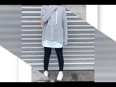 طريقة تنسيق الالوان الرمادي و الوردي و الاحمر في الملابس للمحجبات Youtube