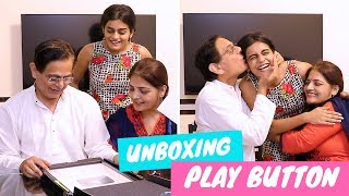 Surprising My Parents With YouTube Silver Play Button | #DhwanisDiary