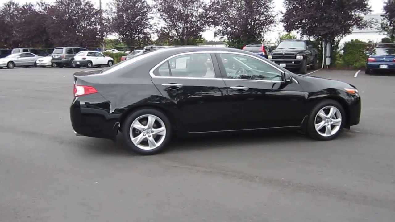 2009 Acura TSX, Tuxedo Black - STOCK# 731022 - YouTube