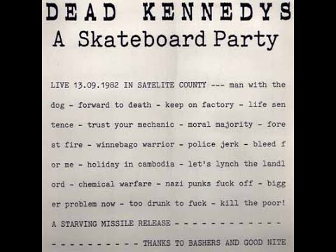 Dead Kennedys - Live @ ????, Stuttgart, West Germany, 9/13/82