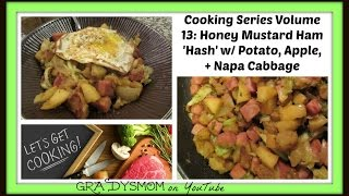 "Cooking Series | Volume13: Honey Mustard Ham 'hash"" W/ Fried Egg"