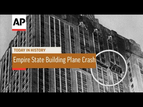 Image result for a u.s. army bomber crashes in the empire state building