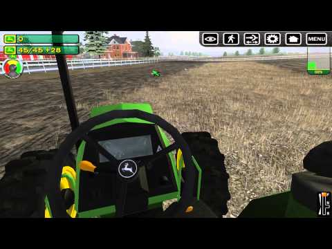 John Deere Drive Green - GAMEPLAY #1 (Lets Play / Walkthrough / Playthrough)