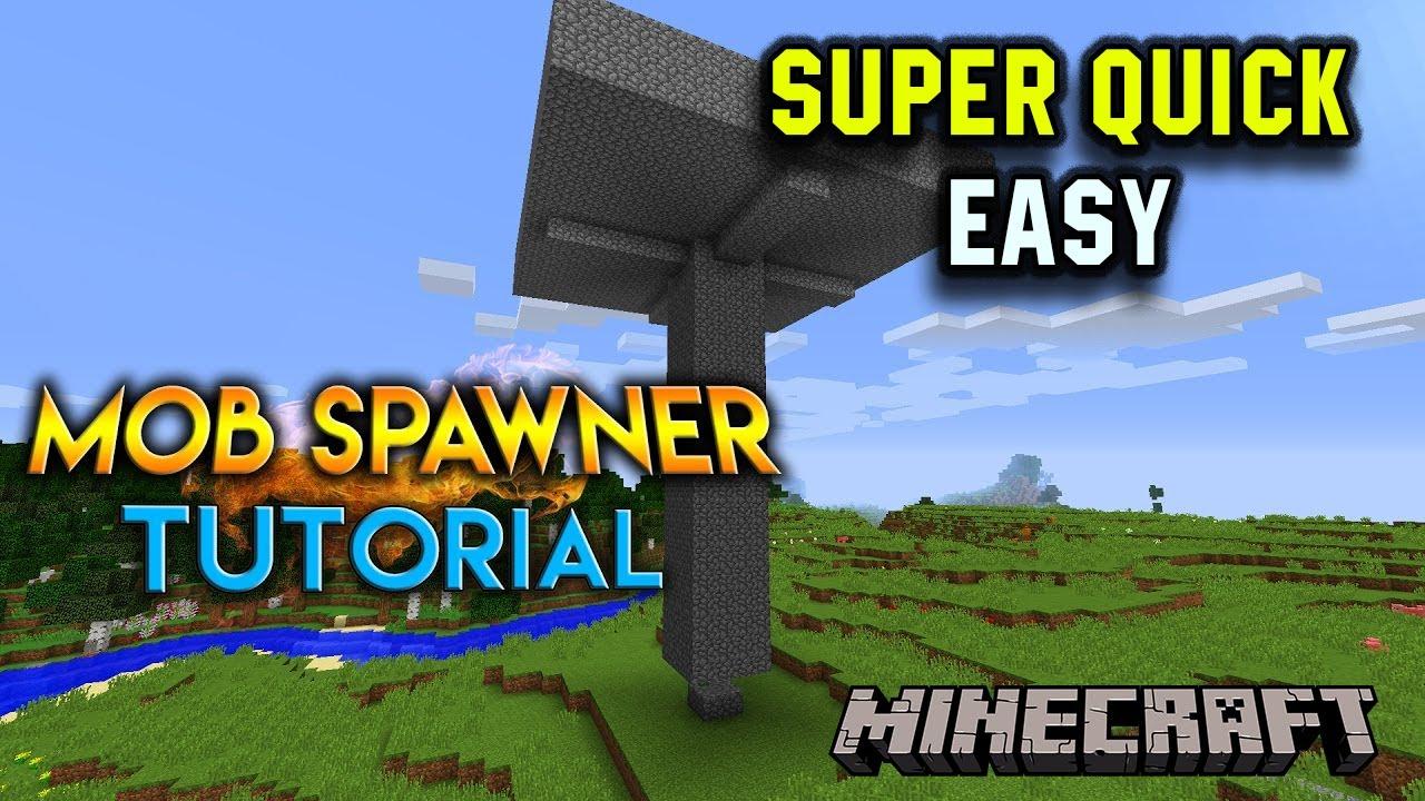 New 1111 EASY Homemade XP Farm/Mob Spawner - 11.11 - NO SPAWNER