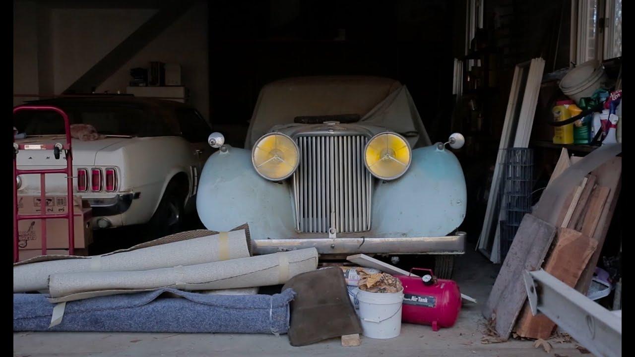 1947 Jaguar Custom Bodied Mark IV DISCOVERED!!! - YouTube