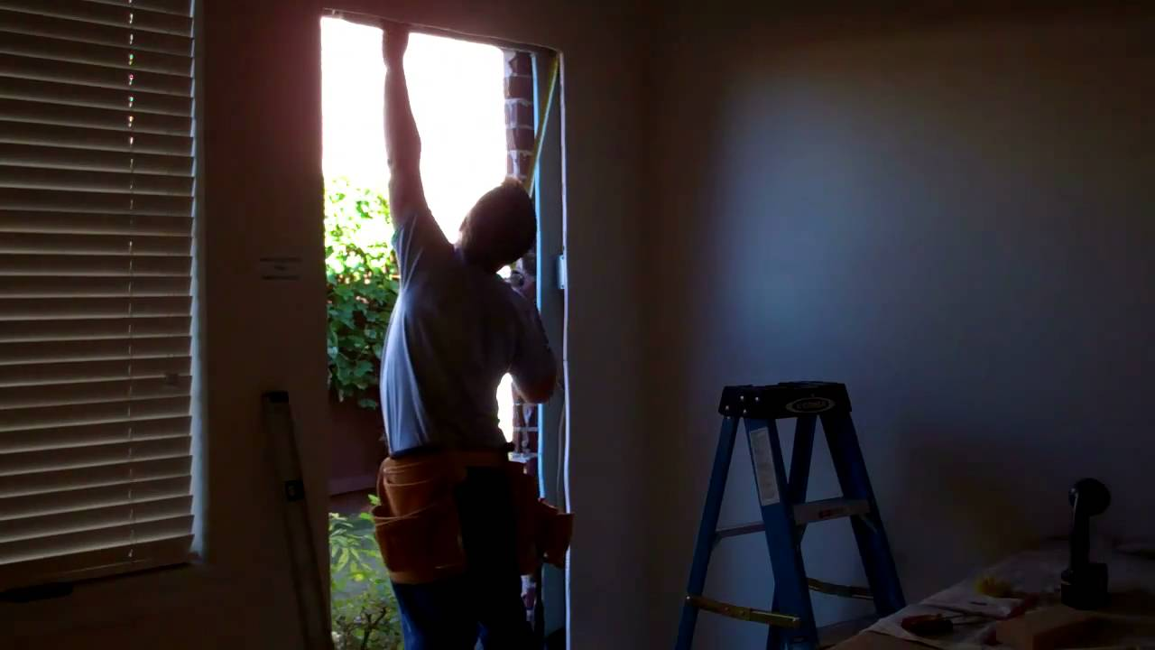 How To Add A Door In An Exterior Brick Wall Part 2 Of Benoah Renovations Video You