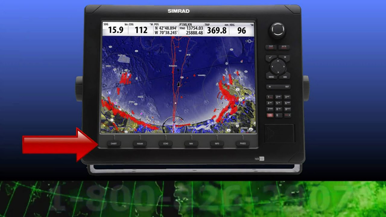 simrad nse12 multifunction display: an up close look - youtube, Fish Finder