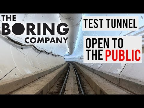 The Boring Company:  Free Rides To The Public!