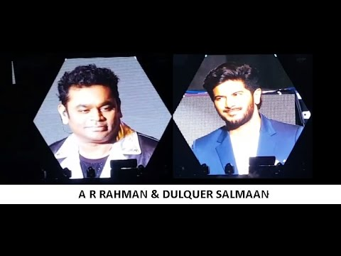 DULQUER SALMAAN'S ON STAGE | WITH | A R  | LIVE CONCERT | SHARJAH CRICKET STADIUM
