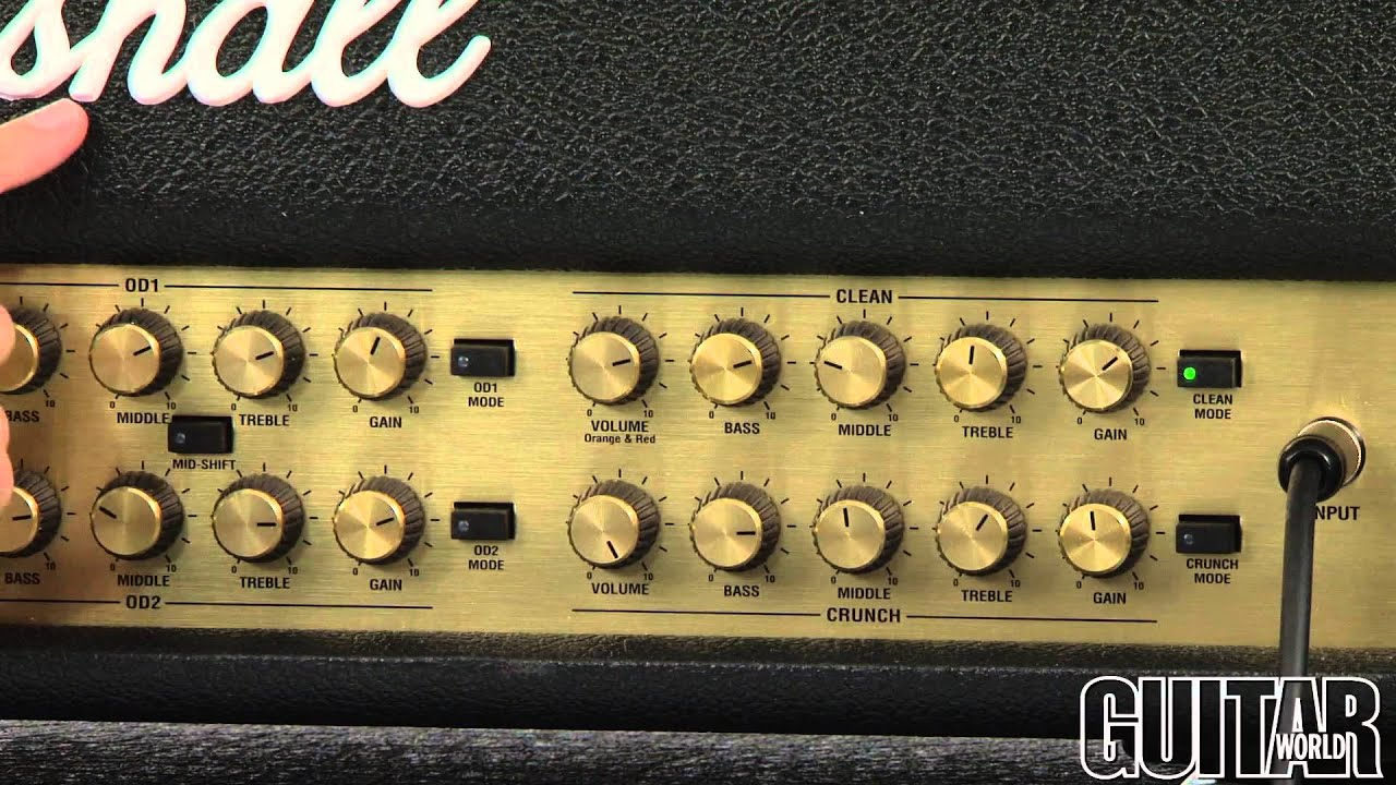 Marshall Amplification Jvm410hjs Joe Satriani Head