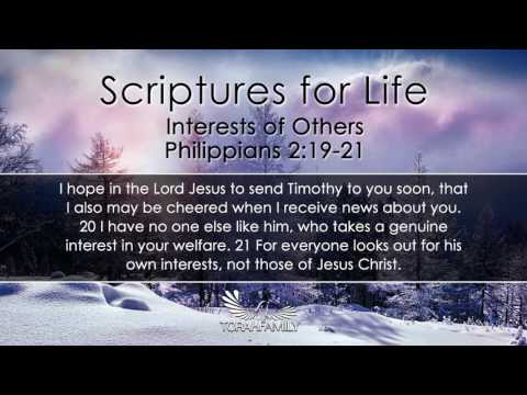 Scriptures for Life | Interests of Others