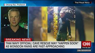 Thai official: Cave Rescue could happen very soon