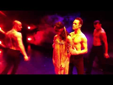 Blindfold dance in burn the floor by Jason gilkison