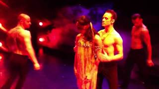 Blindfold dance in burn the floor by Jason gilkison