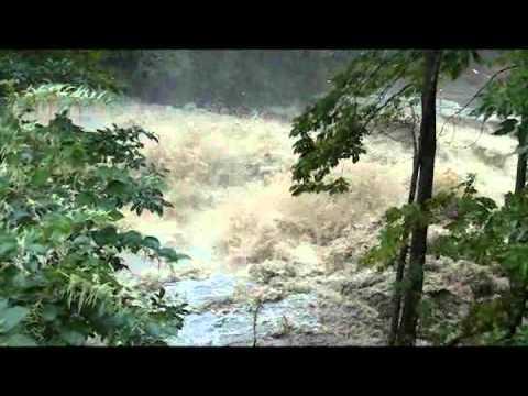 Hurricane Irene Saxtons River Vermont August 28, 2011