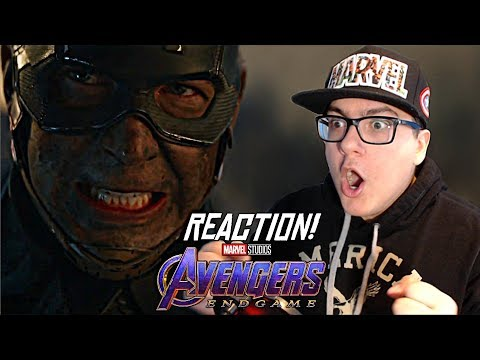 Avengers: Endgame - Official Trailer 2 REACTION!