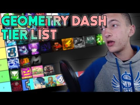 Official Geometry Dash YouTubers Tier List