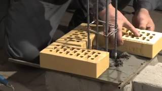 CRH Klinkier Montaż murowanie ogrodzenia z cegły klinkierowej film instruktażowy