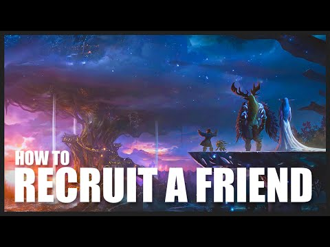 "RAF Leveling Tutorial (WoD 7.0.3) World of Warcraft: How To ""Recruit-a-Friend"" and level from 1-90"