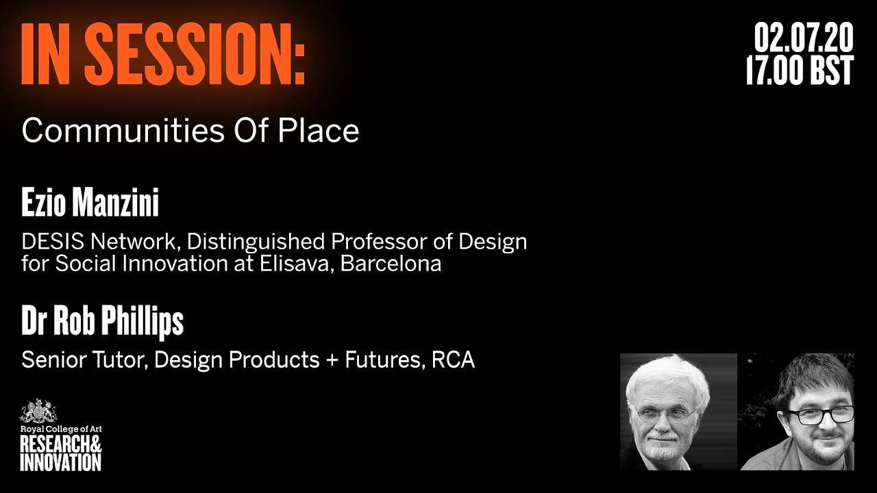 In Session Communities Of Place Royal College Of Art
