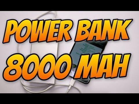 Power Bank 8000 mAh Parkman