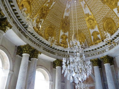 Sanssouci Palace (Schloss Sanssouci) - Interior splendor of all kinds, Potsdam, Germany